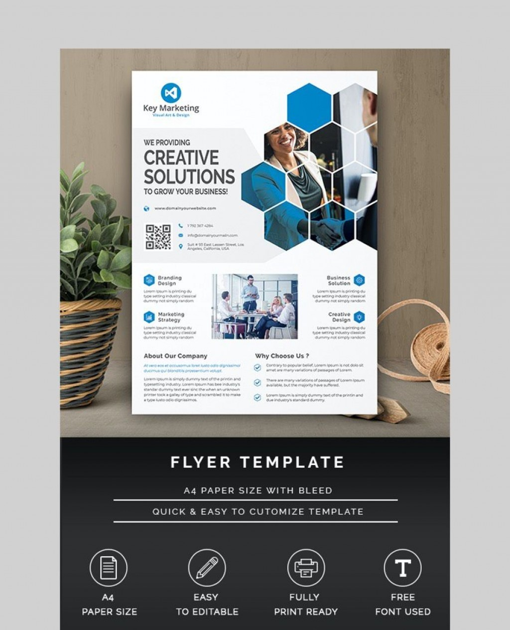 009 Incredible Busines Flyer Template Free Printable Image Large