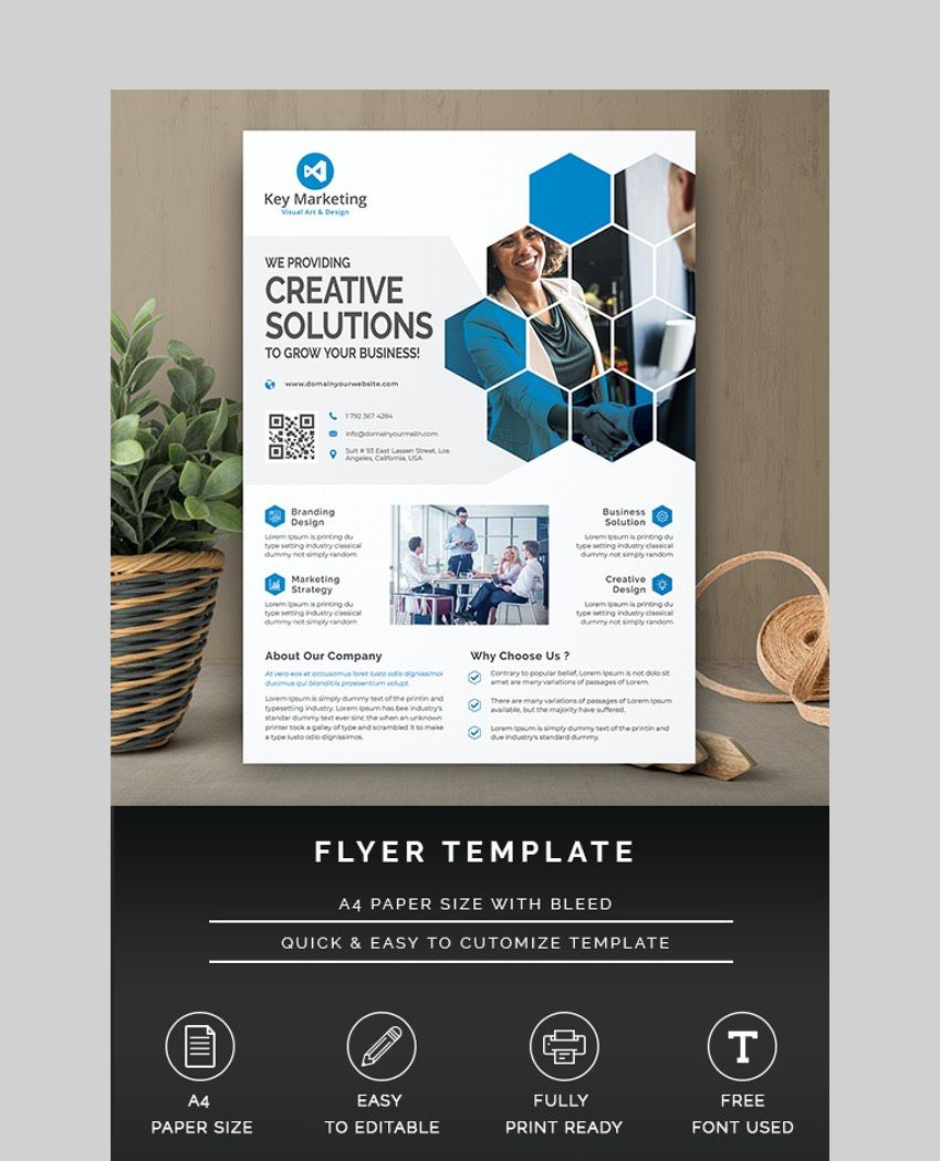 009 Incredible Busines Flyer Template Free Printable Image Full