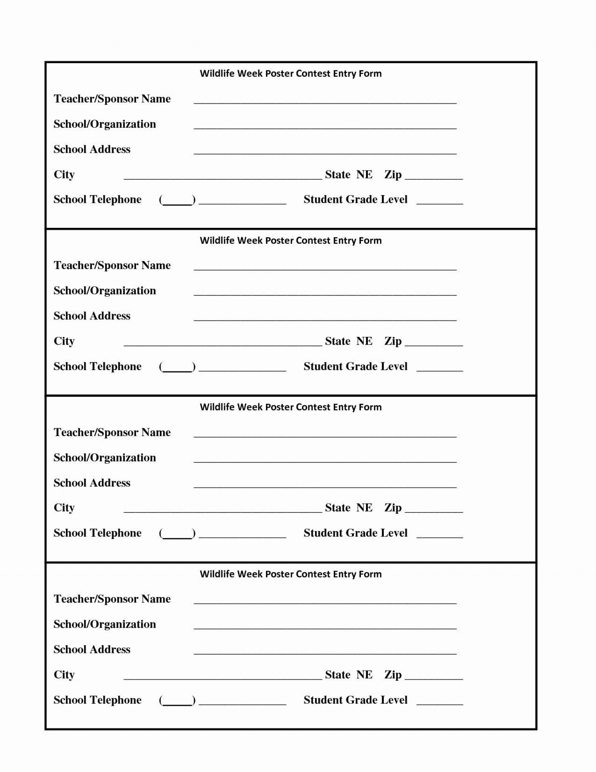 009 Incredible Entry Form Template Word Photo  Raffle Data Microsoft1920