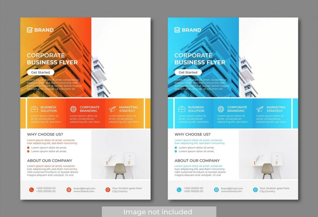 009 Incredible Free Download Flyer Template Image  Templates Blank Leaflet Word PsdLarge