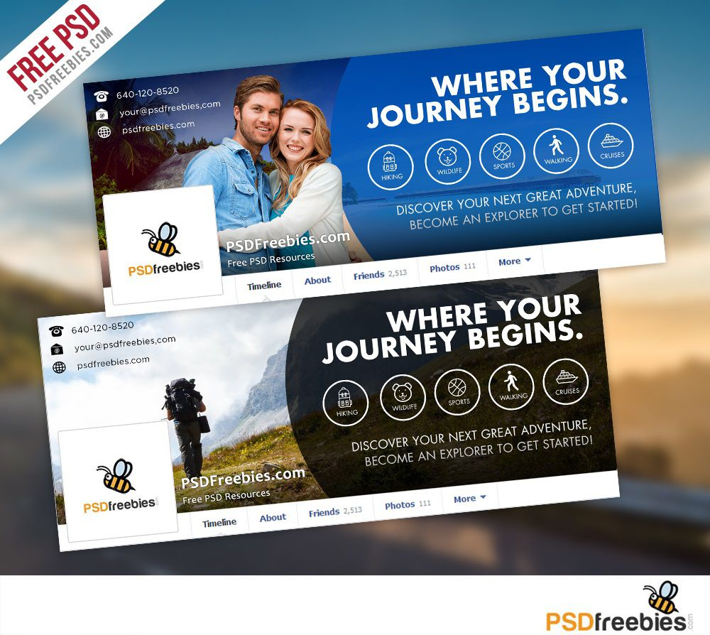 009 Incredible Free Facebook Cover Template Highest Clarity  Templates PhotoshopFull