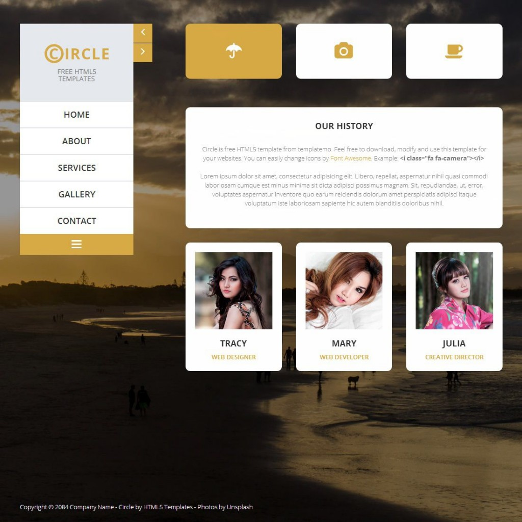 009 Incredible Free Website Template Download Html And Cs For Photo Gallery Inspiration Large