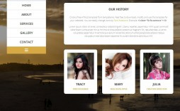 009 Incredible Free Website Template Download Html And Cs For Photo Gallery Inspiration