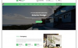 009 Incredible Interior Design Website Template Inspiration  Templates Company Free Download Html