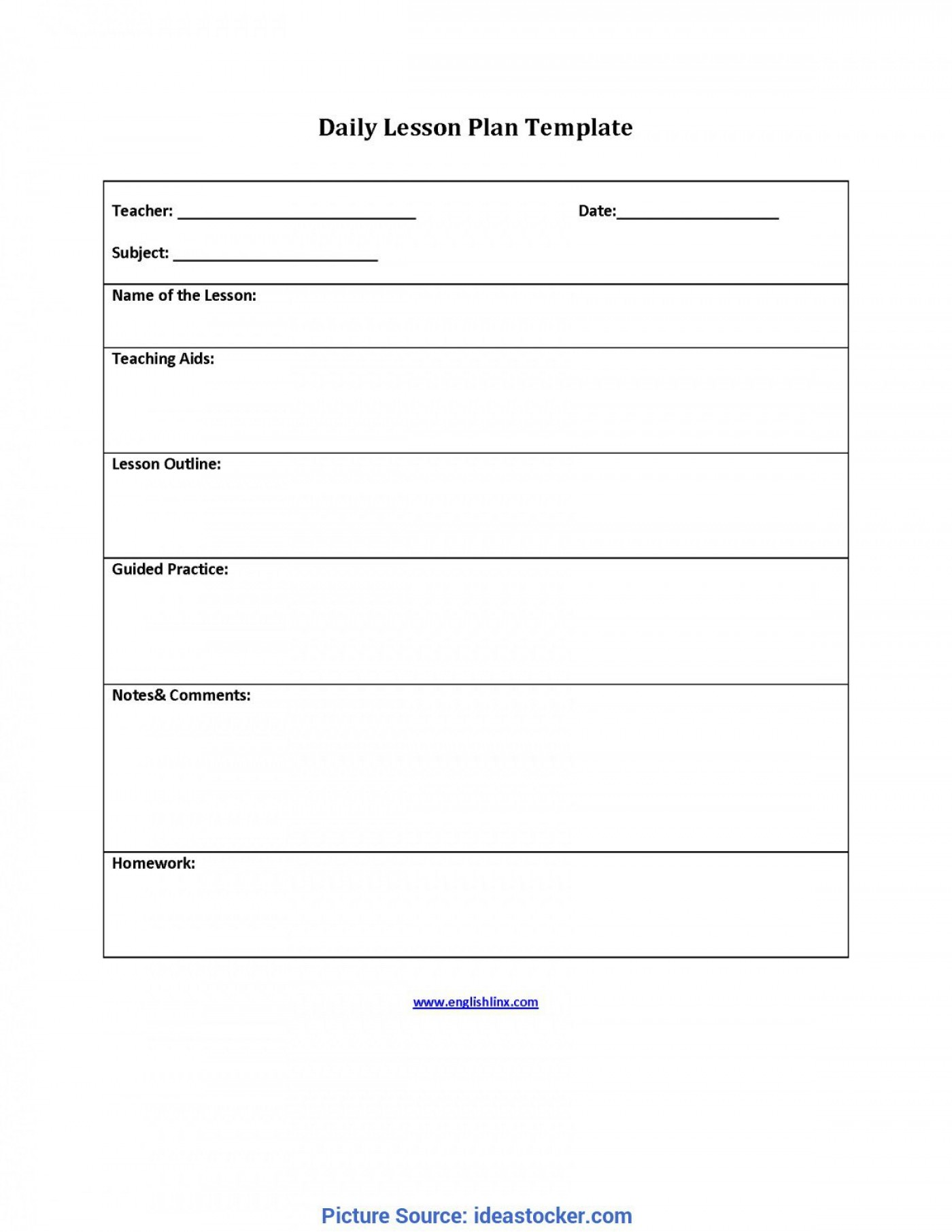 009 Incredible Lesson Plan Outline Template Highest Clarity  Sample Format Pdf Blank Free Printable1400