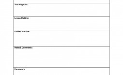 009 Incredible Lesson Plan Outline Template Highest Clarity  Example Blank Free Pe