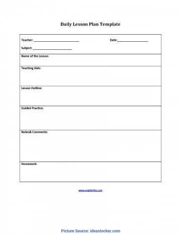 009 Incredible Lesson Plan Outline Template Highest Clarity  Sample Format Pdf Blank Free Printable360