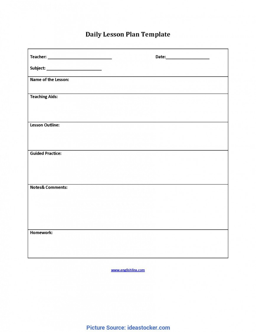 009 Incredible Lesson Plan Outline Template Highest Clarity  Sample Format Pdf Blank Free Printable868