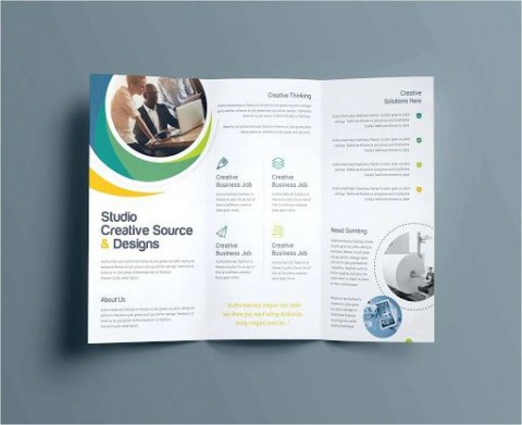 009 Incredible Microsoft Publisher Free Template Idea  2007 Brochure Download M480