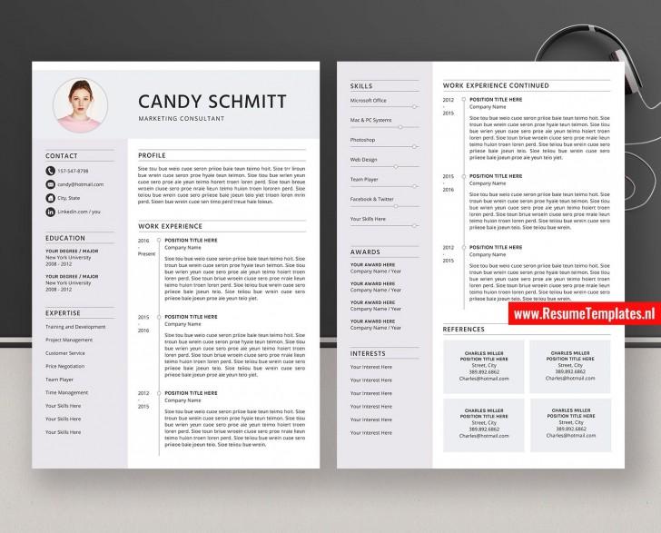 009 Incredible Microsoft Word Resume Template High Def  Reddit 2019 2010 Free Download728