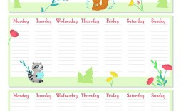 009 Incredible Printable Weekly Planner Template Cute Highest Clarity  Free Calendar