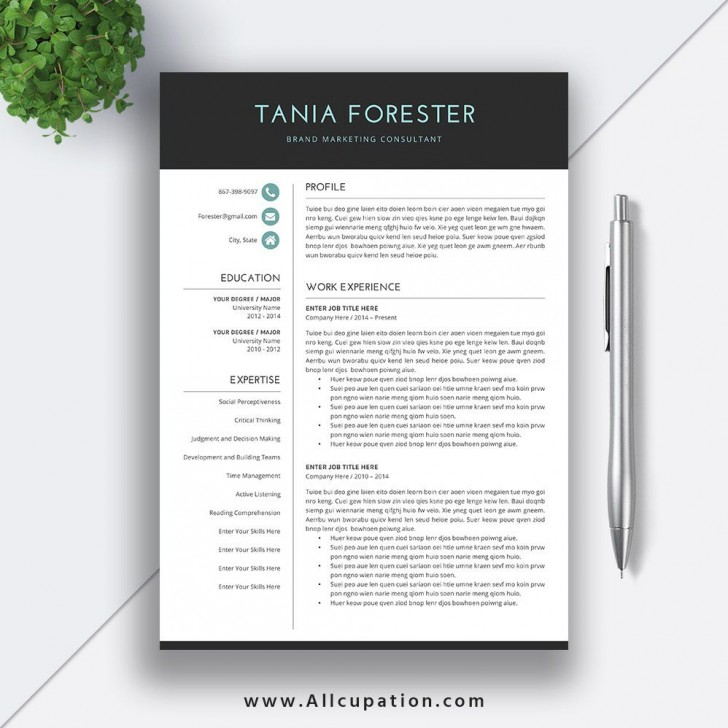 009 Incredible Resume Template Download Word Concept  Cv Free 2019 Example File728