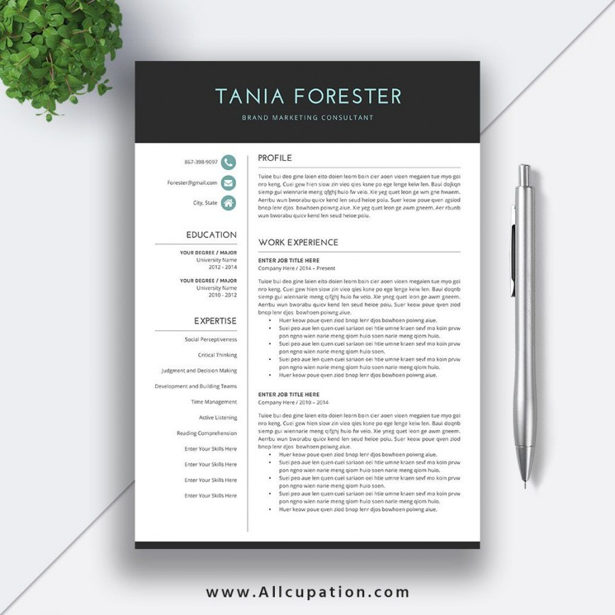 009 Incredible Resume Template Download Word Concept  Cv Free 2019 Example File868