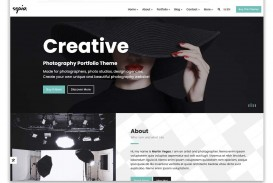 009 Incredible Web Template For Photographer Sample  Photography