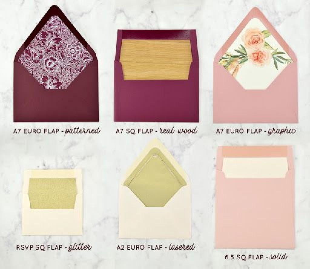 009 Magnificent A7 Square Flap Envelope Liner Template Sample Large