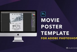 009 Magnificent Adobe Photoshop Psd Poster Template Free Download Sample