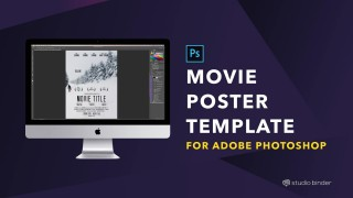 009 Magnificent Adobe Photoshop Psd Poster Template Free Download Sample 320