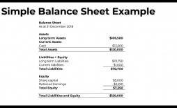 009 Magnificent Basic Balance Sheet Template Sample  Simple For Self Employed Pdf
