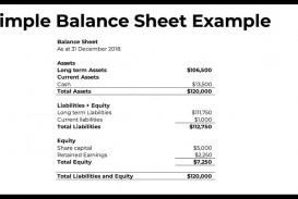 009 Magnificent Basic Balance Sheet Template Sample  Simple Free For Self Employed Example Uk