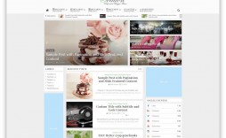 009 Magnificent Best Free Responsive Blogger Template 2015 Concept