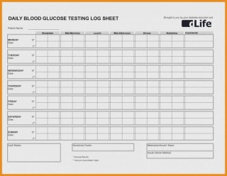 009 Magnificent Blood Glucose Spreadsheet Template Highest Quality  Tracking320