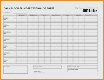 009 Magnificent Blood Glucose Spreadsheet Template Highest Quality  Tracking360