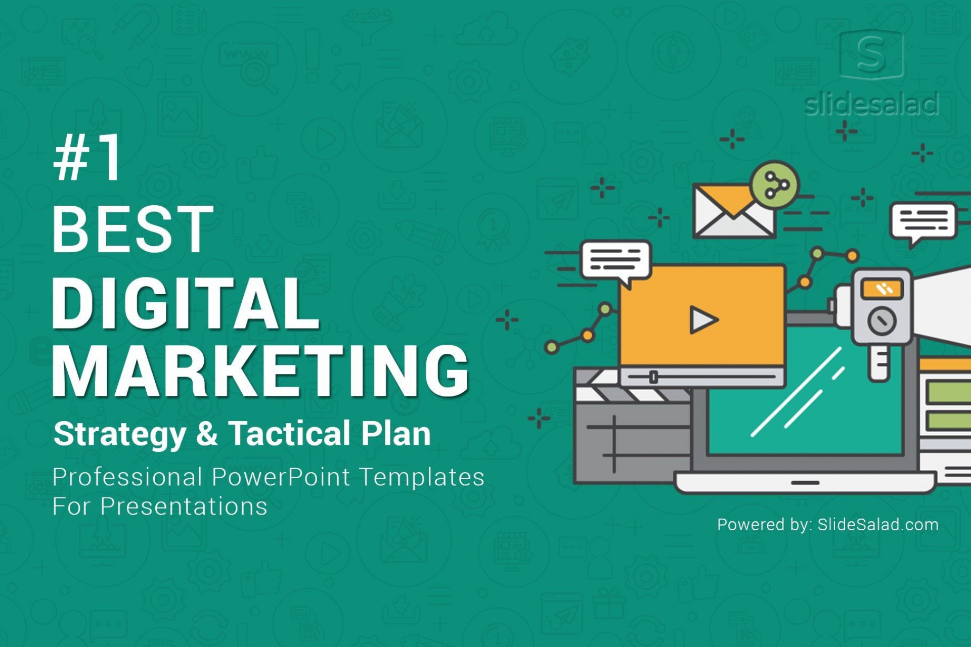 009 Magnificent Digital Marketing Plan Template Ppt Example  Presentation Free Slideshare1920