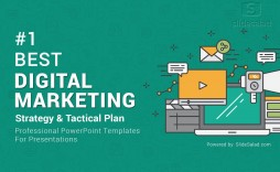 009 Magnificent Digital Marketing Plan Template Ppt Example  Presentation Free Slideshare