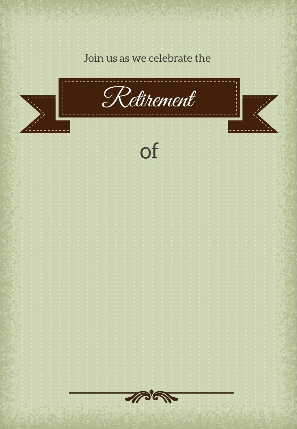 009 Magnificent Free Retirement Invitation Template Highest Clarity  Templates Microsoft Word Party FlyerLarge