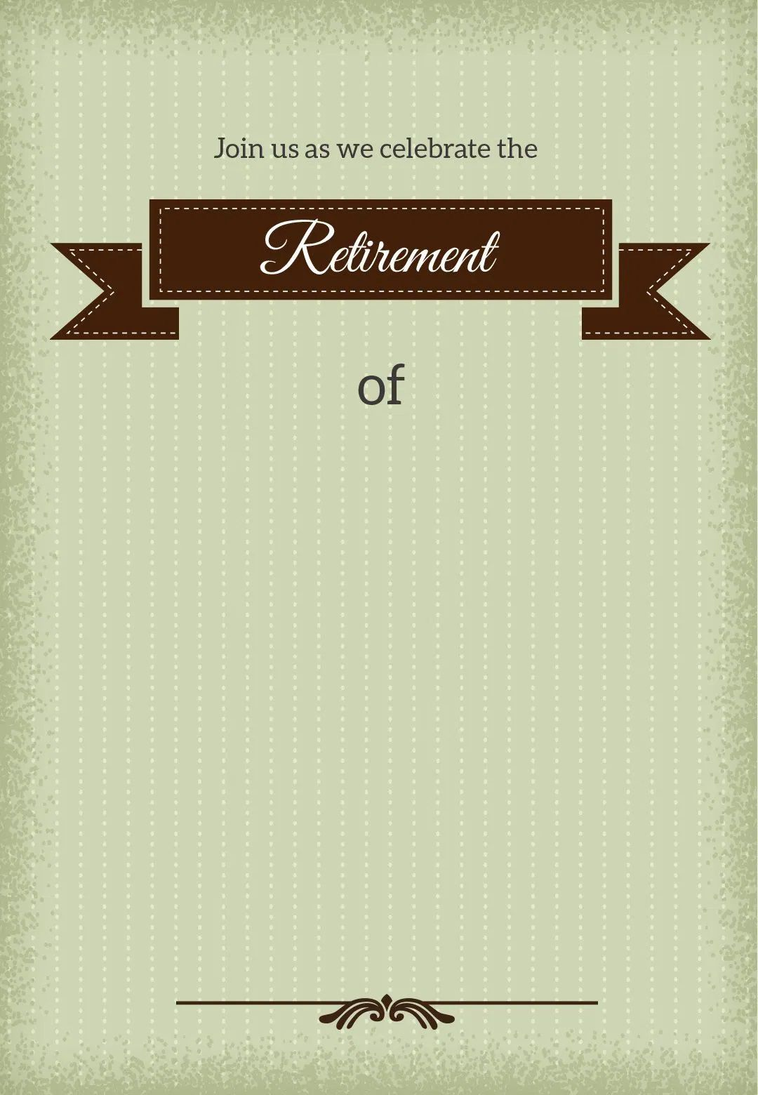 009 Magnificent Free Retirement Invitation Template Highest Clarity  Templates Microsoft Word Party FlyerFull