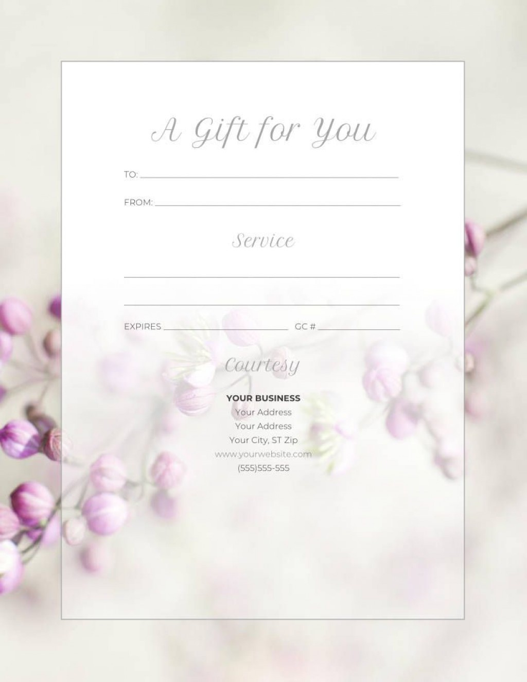 009 Magnificent Free Template For Gift Certificate Photo  Printable Birthday Mac In WordLarge