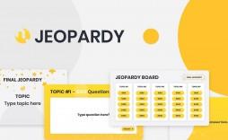 009 Magnificent Jeopardy Template Google Slide Sample  Slides Board Blank Best