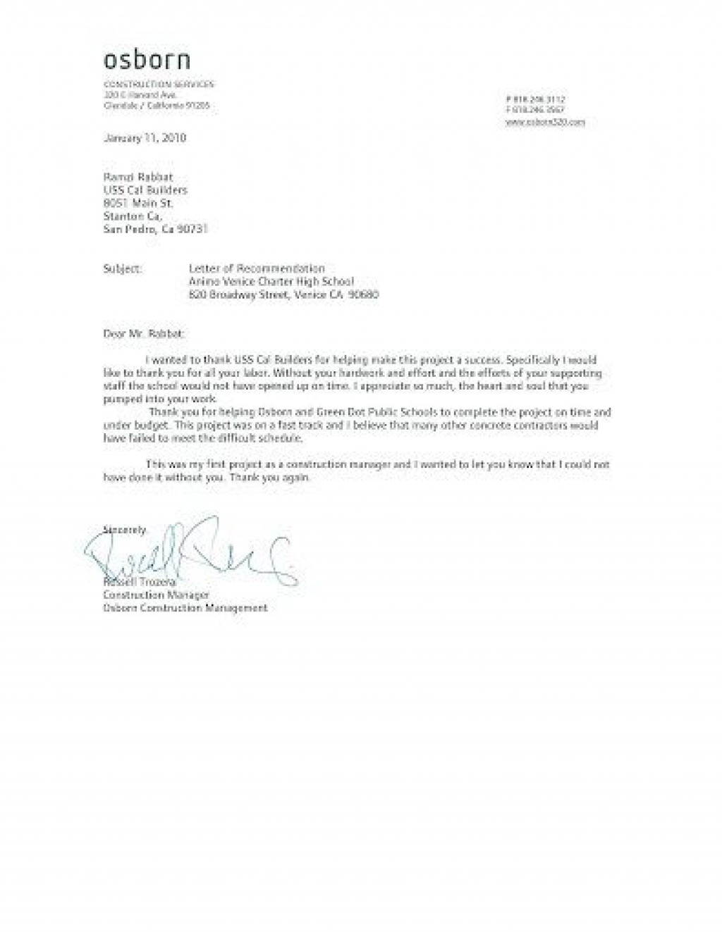 009 Magnificent Letter Of Recommendation Template Idea  For Teacher Student From Coach WordLarge