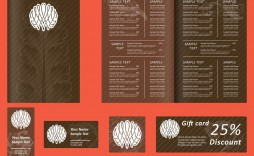 009 Magnificent Menu Card Template Free Download High Definition  Indian Restaurant Design Cafe