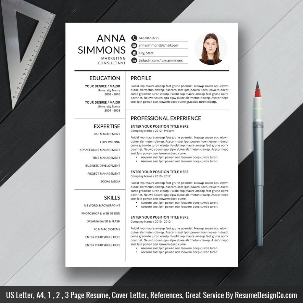 009 Magnificent Microsoft Word Resume Template 2020 High Definition  FreeLarge