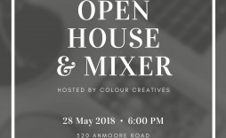009 Magnificent Open House Invitation Template High Def  Templates Free Printable Busines
