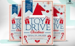 009 Magnificent Toy Drive Flyer Template Inspiration  Holiday Download Free Word