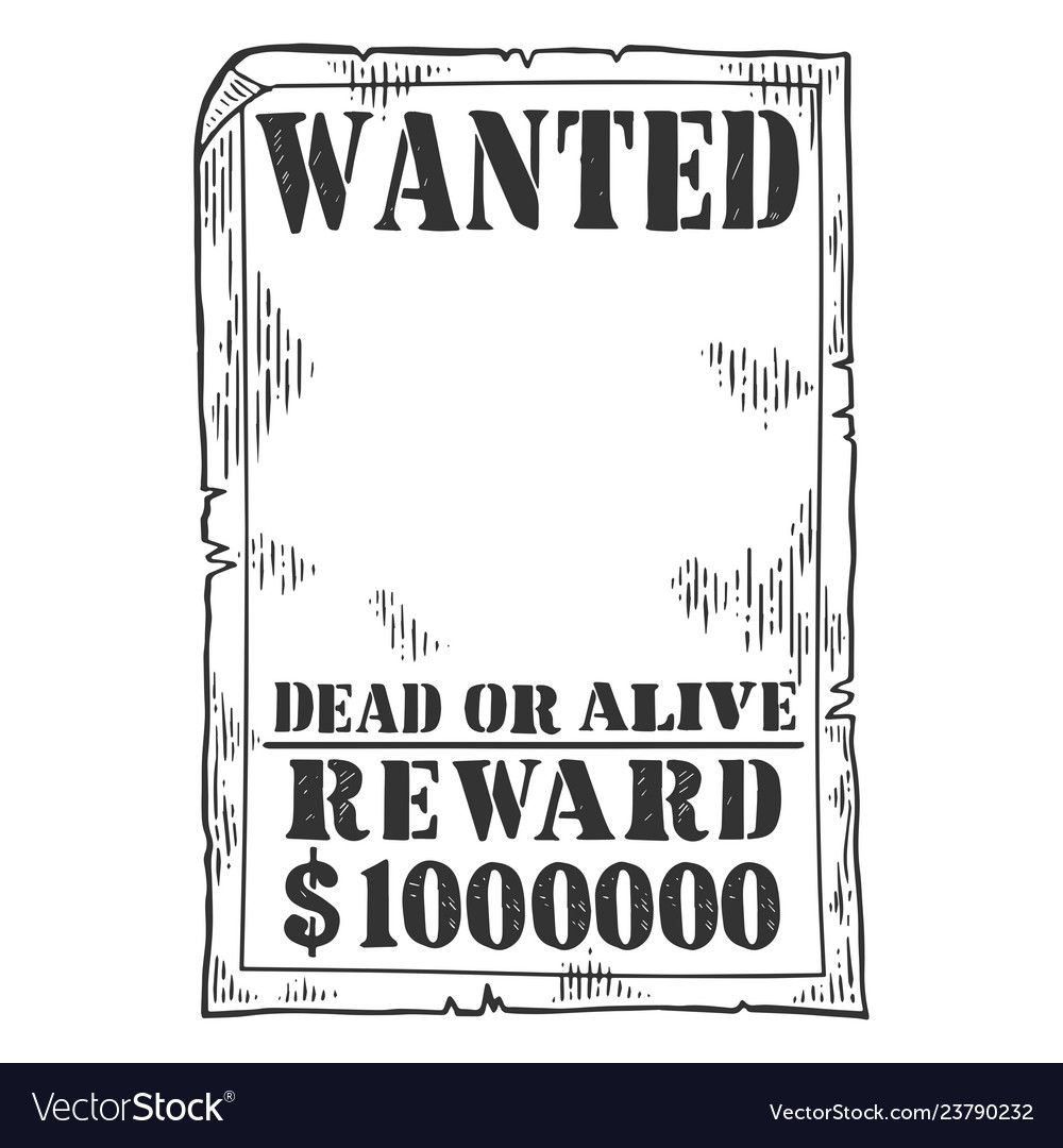 009 Magnificent Wanted Poster Template Pdf Inspiration  Free CharacterFull
