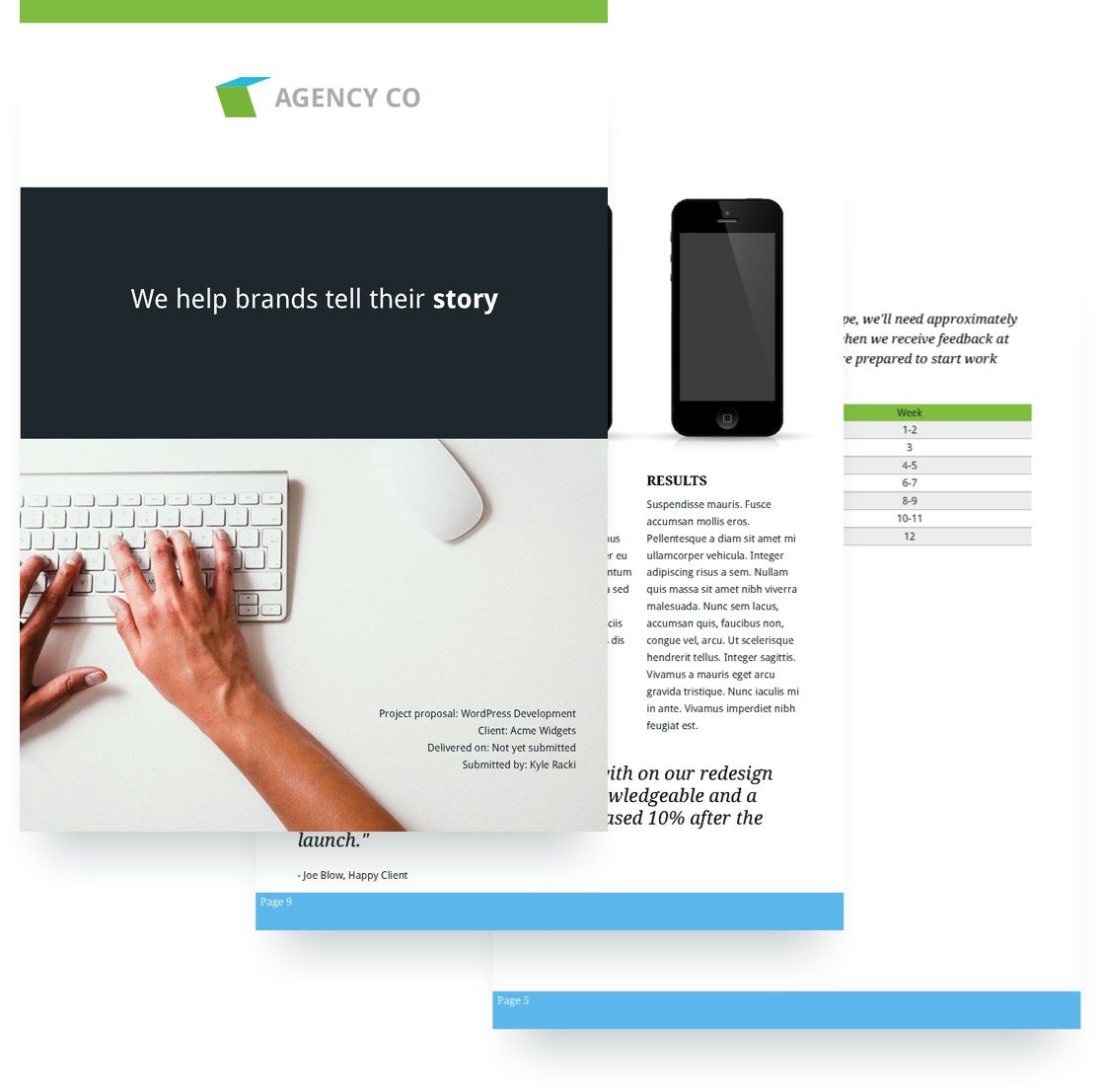 009 Magnificent Website Development Proposal Template Image  Web Free Document PortalFull