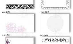 009 Magnificent Wedding Name Card Template Example  Table Place Free Seating