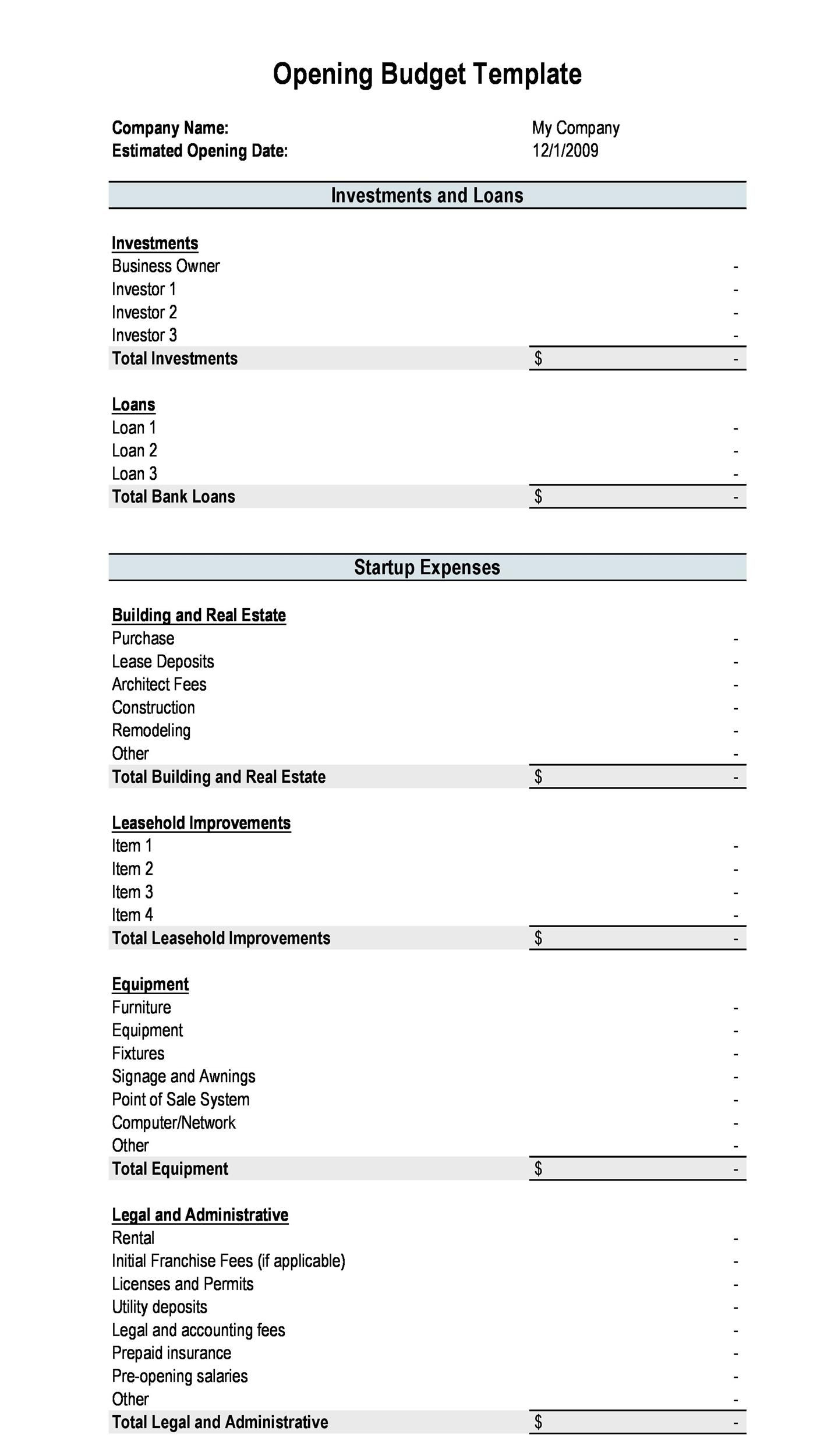 009 Marvelou Best Home Renovation Budget Template Excel Free Example Full