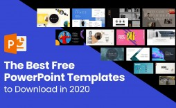 009 Marvelou Best Powerpoint Template Free Inspiration  Busines Download White Background 2019