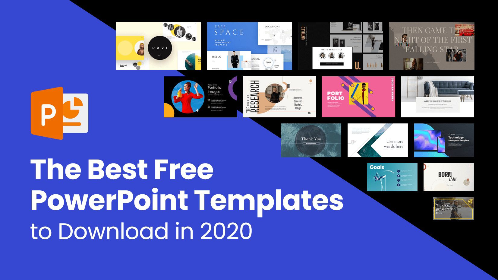 009 Marvelou Best Powerpoint Template Free Inspiration  Busines Download White Background 2019Full