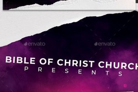 009 Marvelou Church Flyer Template Free Printable High Def  Event