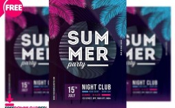 009 Marvelou Club Party Flyer Template Free Concept