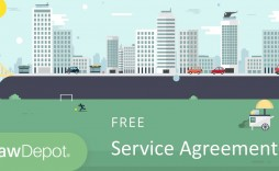009 Marvelou Free Electrical Service Contract Template Concept