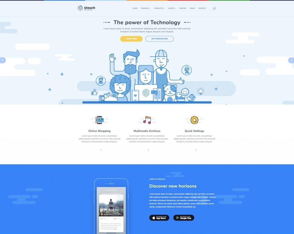 009 Marvelou Free Google Site Template Inspiration  Templates Download New 2020Large