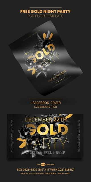 009 Marvelou Free Party Flyer Template For Photoshop Picture  Pool Psd Download320