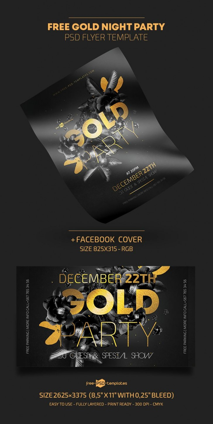 009 Marvelou Free Party Flyer Template For Photoshop Picture  Pool Psd Download728