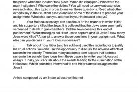 009 Marvelou Holocaust Essay Photo  Thesi Hook Contest 2020